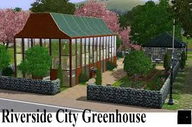 mod the sims riversidecity greenhouse revisited city garden