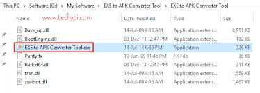 how to convert exe into apk convert exe to apk windows exe to android apk free tool techypi