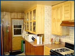 dark knotty pine cabinets kitchen paint colors with knotty pine
