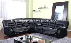 Black Leather Sectional Sofa Recliner Black Leather With Recliners Used Black Leather Sectional