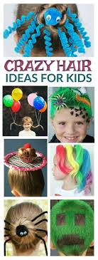crazy hair ideas for 5 year olds boys 134 best crazy hair day images on pinterest funny hairstyles