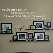Inspirational Quotes Decor For The Home Inspirational Wall Quote The Best Things In Life Love Place