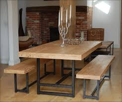 kitchen long narrow dining table small dining room farm kitchen