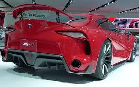 Toyota Ft 1 Engine Detroit The Most Ferrari Like Toyota The Toyota Ft 1 Concept