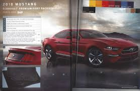 Black Mustang With Red Stripes 2018 Mustang Refresh Released 2018 Mustang Photos Cj Pony Parts