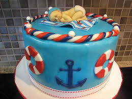 nautical theme baby shower cake sailboat nautical themed ba shower
