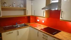 Kitchen Splashbacks Red Glass Splashbacks For Kitchens And Bathrooms