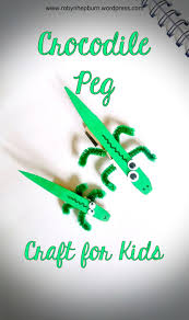 crocodile craft for kids u2013 stuff you should make