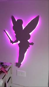 tinkerbell decorations for bedroom homemade tinkerbell bedroom decoration youtube