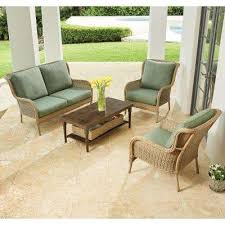 Hampton Bay Patio Chair Cushions by Lemon Grove Hampton Bay Patio Furniture Outdoors The Home