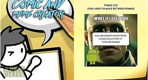 Meme Creator App - comic meme creator for android free download at apk here store