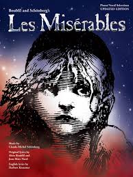 les miserables piano vocal guitar book and more piano vocal