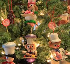german tree ornaments lights decoration
