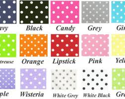 White With Pink Polka Dot Curtains Deer Curtain Panels Various Colors Window Treatment
