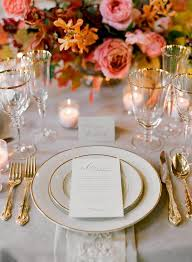 Wedding Place Best 25 Fall Wedding Place Settings Ideas On Pinterest Fall