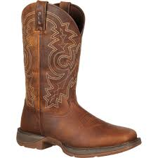 ariat womens cowboy boots size 12 rebel by durango s 12 brown pull on boots style