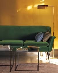 southern inspirations a green velvet sofa a must