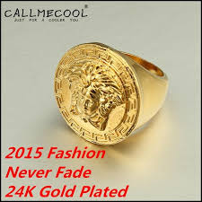 men golden rings images 2015 fashion 24k real gold plated hiphop ring men golden rings hip jpg