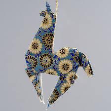 llama ornament the paper crane origami