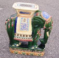 elephant garden stool or side table for sale at 1stdibs henry and