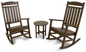 Trex Rocking Chairs Classics 3 Piece Rocker Seating Set