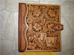 custom leather photo album custom leather tooled photo albums search all things