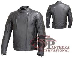 armored leather motorcycle jacket leather motorbike jacket
