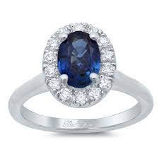 plain band engagement ring oval sapphire halo engagement ring with plain band