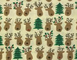 fabric cotton fabric reindeer cotton fabric cotton