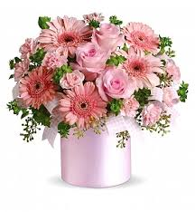 pink bouquet lovely baby girl bouquet flower bouquets a pink bouquet