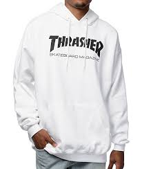 thrasher hoodies and sweatshirts zumiez