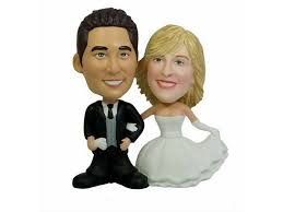 custom wedding cake toppers custom wedding cake topper bobbleheads ii