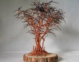 tree of life home decor copper tree art etsy