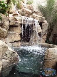 Rock Garden Waterfall Custom Rock Spa In A Small Backyard With Waterfall Splash Pools