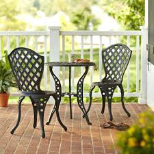 High Bistro Table Set Outdoor Patio Ideas Small Patio Bistro Table Set Outdoor Living Patio