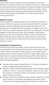 2 meters feet 24005g03 indoor 802 11b g ap user manual manual alcon
