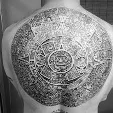 40 mayan calendar tattoo designs for men tzolkin ink ideas