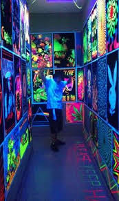 Black Light Bedrooms Want To Decorate With The Most Amazing Walls Uv Murals Will