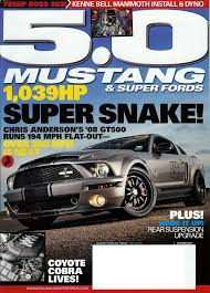 5 0 mustang magazine 5 0 mustang article lethal suspension install october 2011