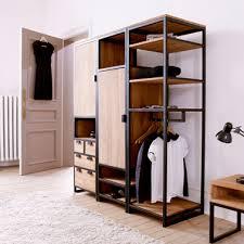 dressing chambre pas cher dressing tikamoon pratique design et pas cher