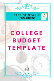 wedding planner budget template best 20 budget templates ideas on pinterest bill template college budget template free printable for students looking for ways to save money and