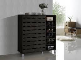 amazon shoe storage cabinet amazon com baxton studio shirley modern contemporary wood 2 door