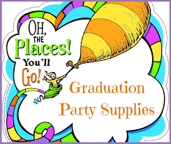 the party supplies the places you ll go graduation party supplies