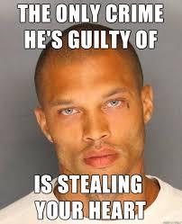 Hot Convict Meme - hot felon jeremy meeks known for mugshot meme sentenced to two