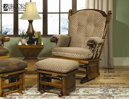 Rocking Chair Pad Furniture Interesting Glider Rocker For Nice Home Furniture Ideas