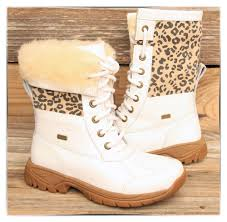 womens ugg style boots uk ugg australia butte white cheetah vibram boots us 3