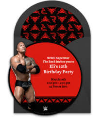 free wwe online invitations punchbowl