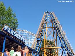 Goldrusher Six Flags Magic Mountain Six Flags New England Flashback Flashback1 Jpg Roller