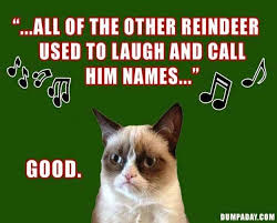 Holiday Memes - five grumpy cat memes for the holiday season kittentoob