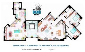 cool apartment floor plans tv floorplans how the apartments in your favourite shows are